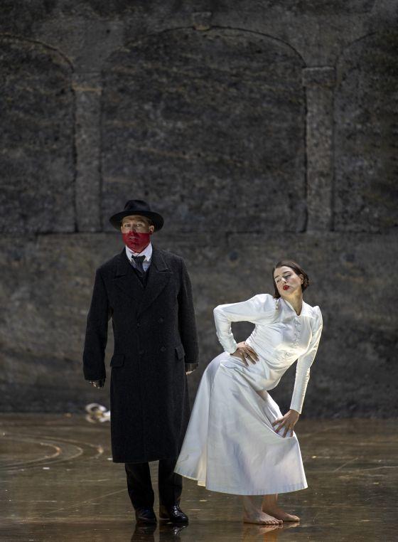 Salome Salzburger Festspiele 2019: Julian Prégardien (Narraboth), Asmik Grigorian (Salome)