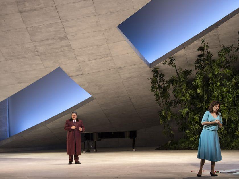 Simon Boccanegra Salzburger Festspiele 2019 Luca Salsi, Marina Rebeka