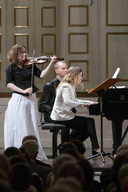 Solistenkonzert Kopatchinskaja · Leschenko Salzburger Festspiele 2019: Patricia Kopatchinskaja, Polina Leschenko