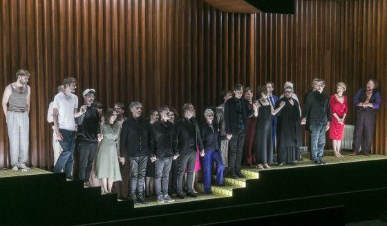 Schlussapplaus Sommergäste Salzburger Festspiele 2019