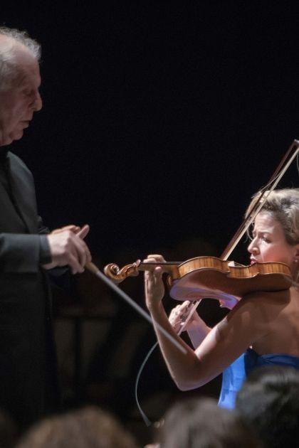 West-Eastern Divan Orchestra 2 · Barenboim Salzburger Festspiele 2019: Daniel Barenboim, Anne-Sophie Mutter