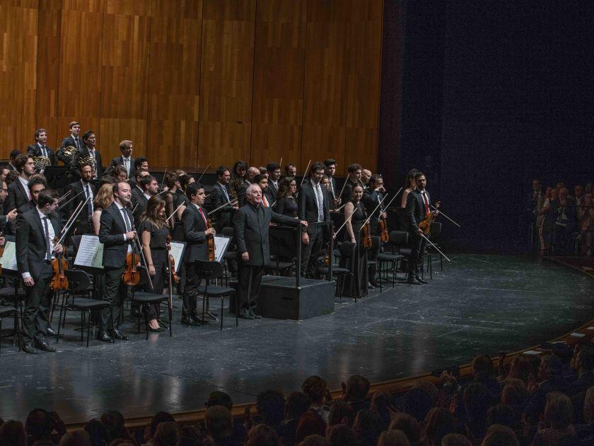 West-Eastern Divan Orchestra 2 · Barenboim Salzburger Festspiele 2019: Daniel Barenboim, West-Eastern Divan Orchestra