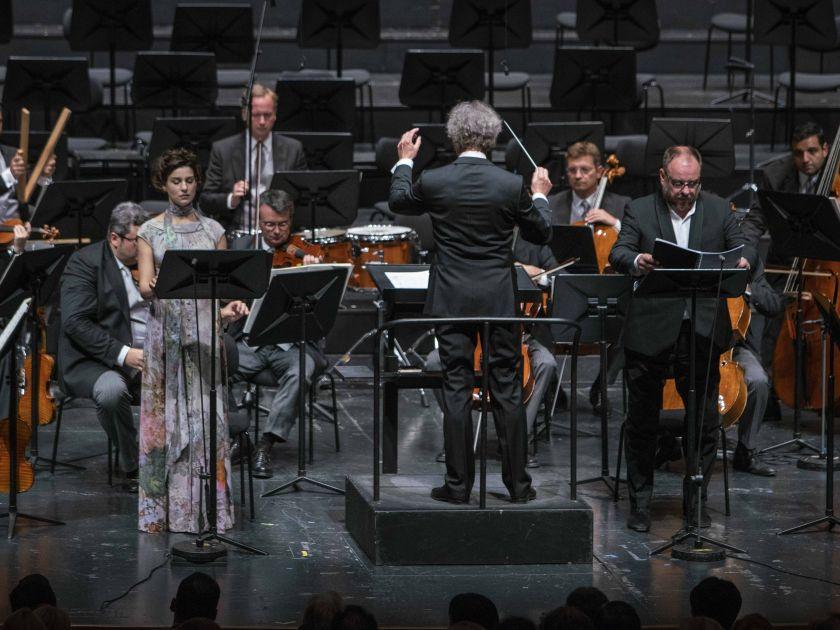 Wiener Philharmoniker · Welser-Möst Salzburger Festspiele 2019 Asmik Grigorian, Franz Welser-Möst, Matthias Goerne, Wiener Philharmoniker