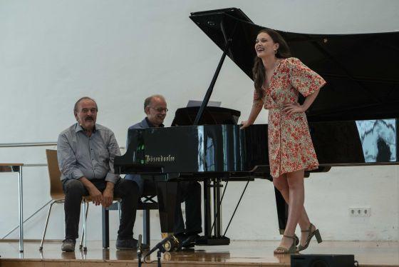 YSP Meisterklasse · Deutsch Salzburger Festspiele 2019: Helmut Deutsch, Sarah Shine