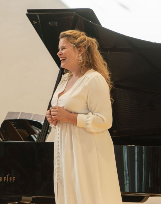 YSP Meisterklasse · von Otter Salzburger Festspiele 2019 Marie-Andrée Bouchard-Lesieur