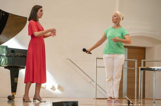 YSP Meisterklasse · von Otter Salzburger Festspiele 2019 Carmen Artaza, Anne Sofie von Otter