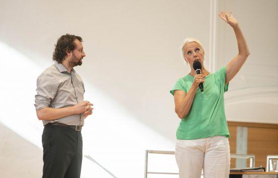 YSP Meisterklasse · von Otter Salzburger Festspiele 2019 Joel Allison, Anne Sofie von Otter