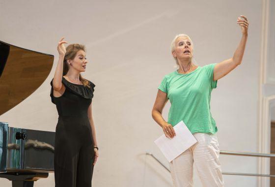 YSP Meisterklasse · von Otter Salzburger Festspiele 2019 Joanna Kędzior, Anne Sofie von Otter
