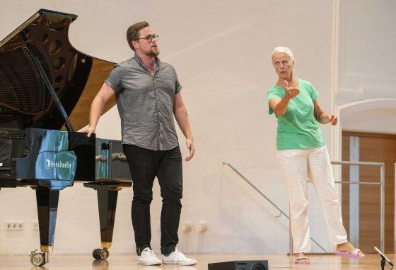 YSP Meisterklasse · von Otter Salzburger Festspiele 2019 James Ley, Anne Sofie von Otter