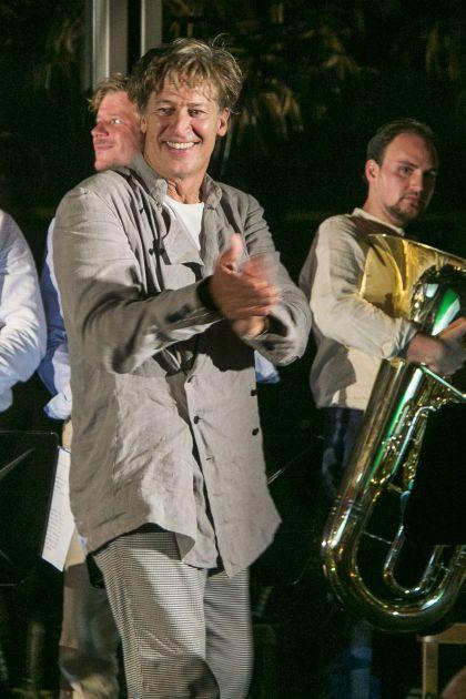 Lesungen · Zum Sisyphos. Ein Abendmahl Salzburger Festspiele 2019 Tobias Moretti, Joschi Öttl, Gernot Haslauer, Roland Eitzinger