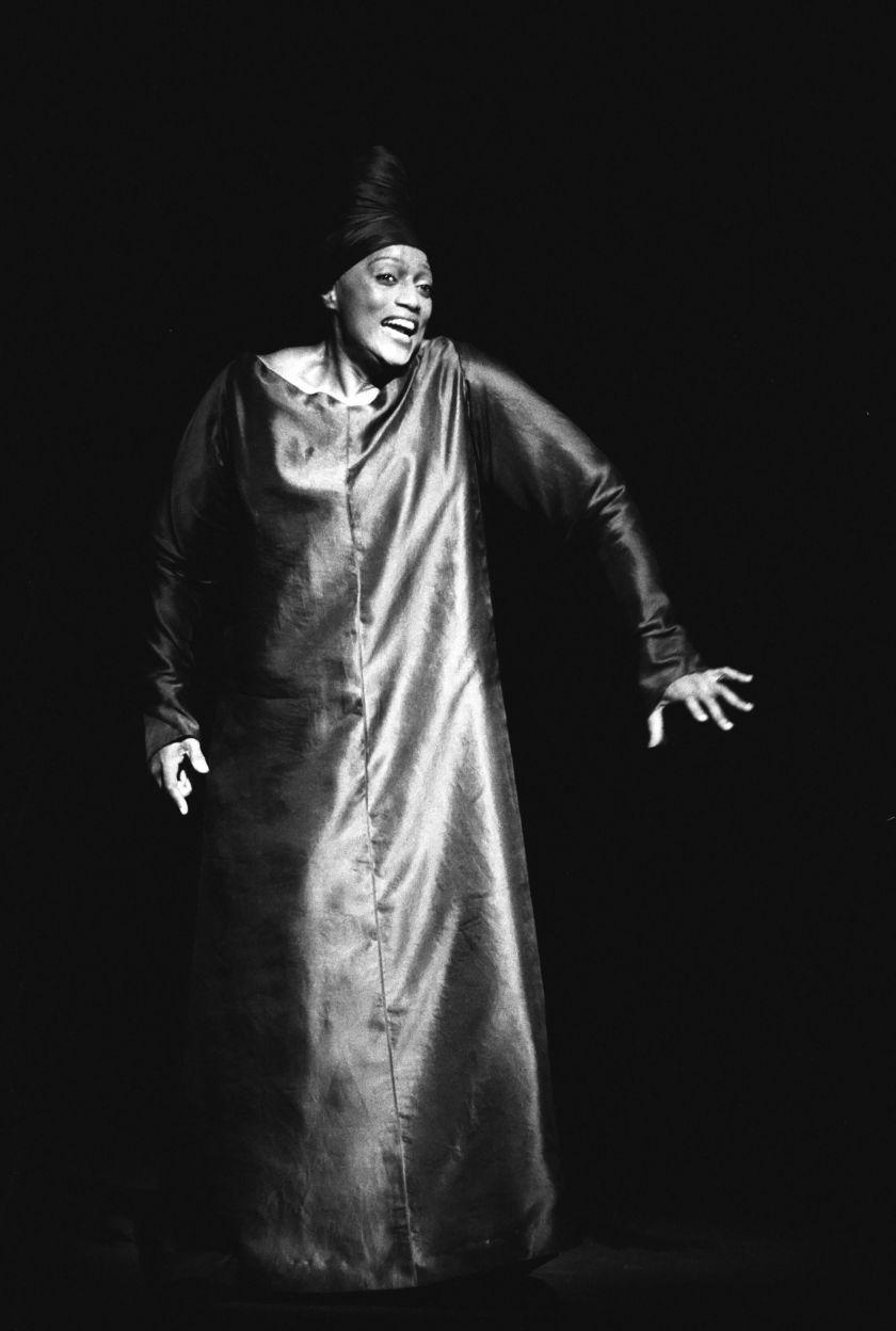 Jessye Norman Erwartung Oper Salzburger Festspiele
