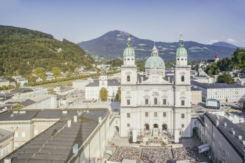 Salzburger Festspiele Domplatz