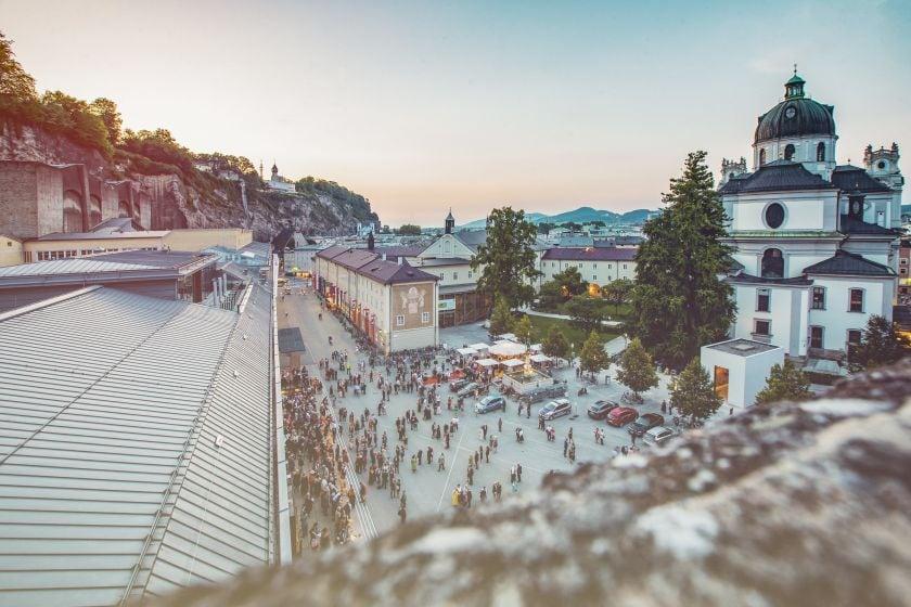 Salzburger Festspiele Hofstallgasse