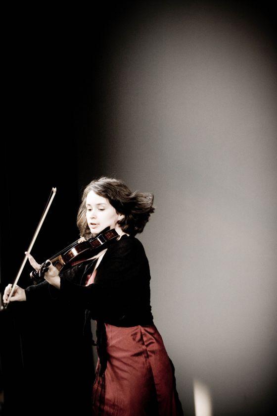 Patricia Kopatchinskaja Geigerin Violinistin Violine Geige