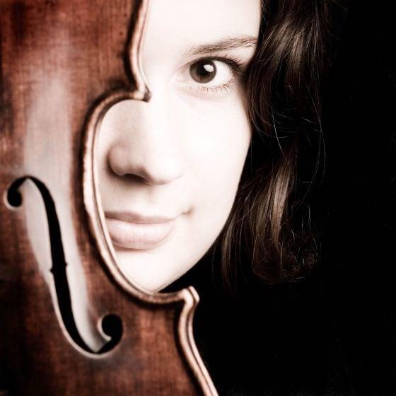 Patricia Kopatchinskaja Violinistin Geigerin Violine Geige