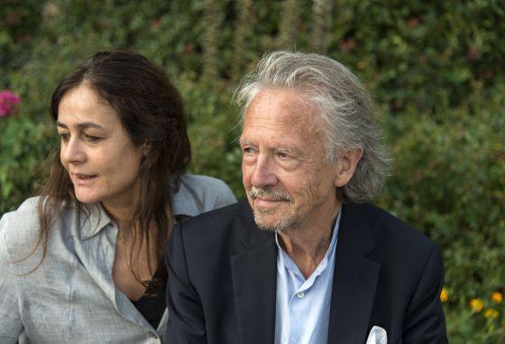 Sophie Semin Schauspielerin Peter Handke Schriftsteller Autor