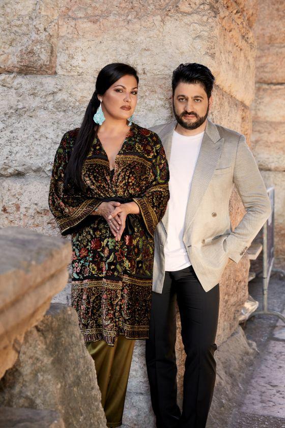 Anna Netrebko and Yusif Eyvazov