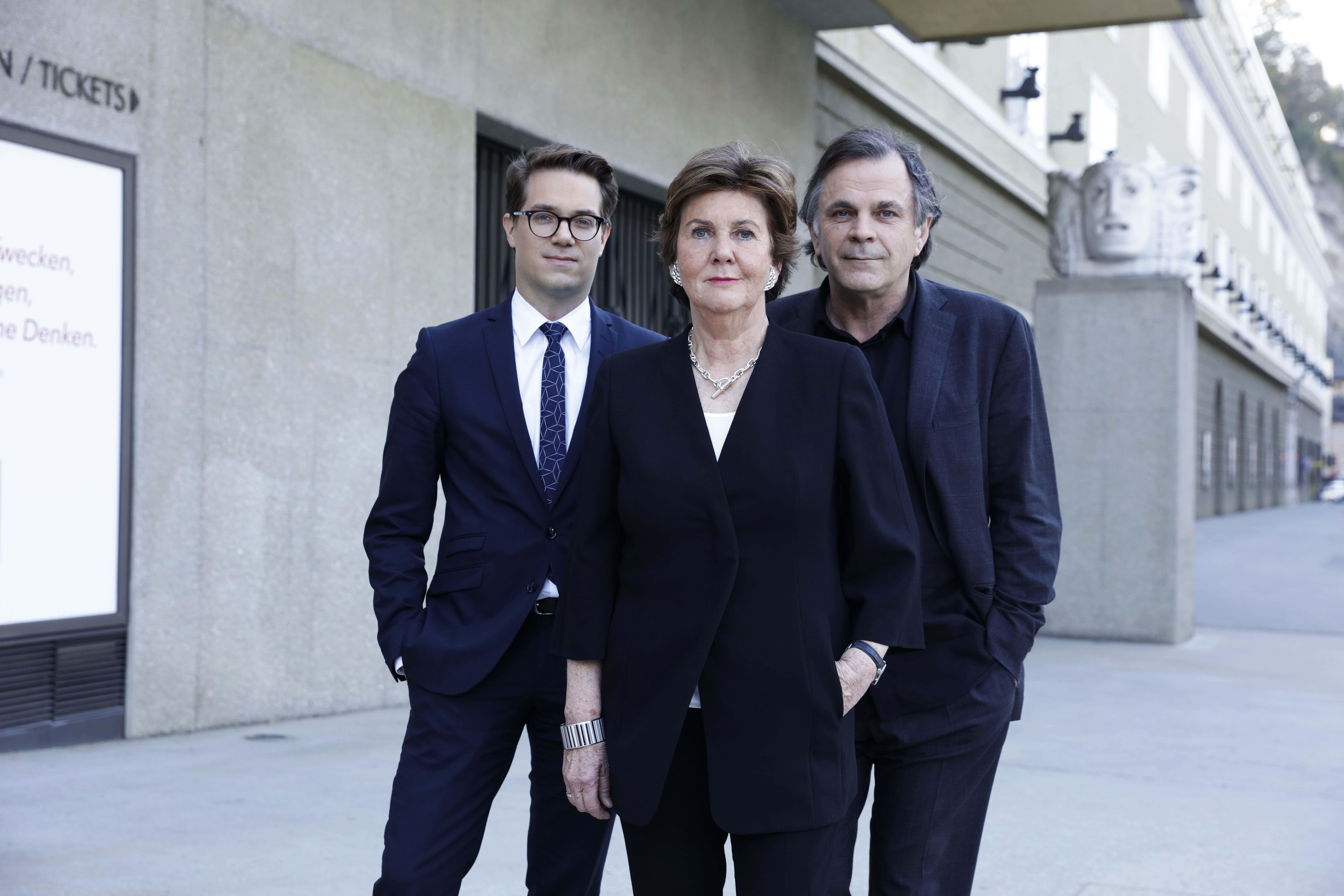 Salzburger Festspiele Direktorium Lukas Crepaz Helga Rabl-Stadler Markus Hinterhäuser