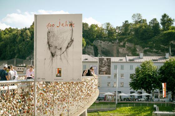 Jaume Plensa Poster Salzburg Festival