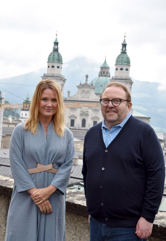 Pauline Knof und Gustav Peter Wöhler