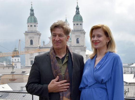 Tobias Moretti und Caroline Peters