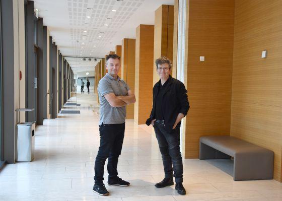 Robert Carsen und Gideon Davey