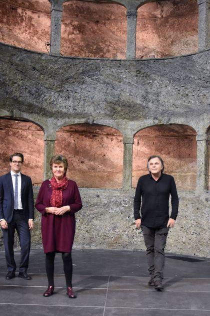 Helga Rabl-Stadler-Markus Hinterhäuser-Lukas Crepaz-Bettina Hering-Florian Wiegand