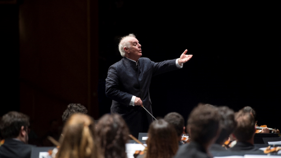 Daniel Barenboim Conductor Salzburg Festival