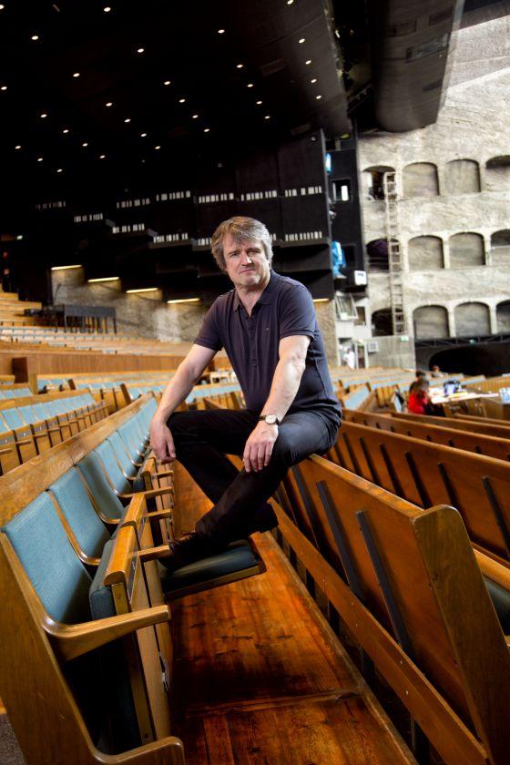 Conductor Ingo Metzmacher Felsenreitschule Salzburg