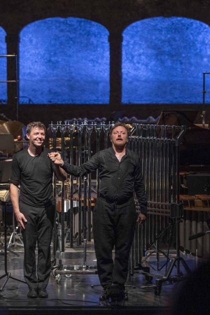 Grubinger · The Percussive Planet Ensemble · Nigl 2021: Martin Grubinger (Percussion), Georg Nigl (Baritone)
