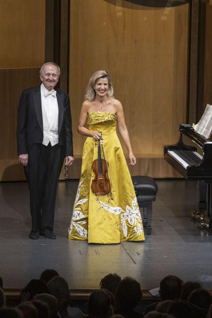 Recital Mutter · Orkis 2021: Anne-Sophie Mutter (Violin), Lambert Orkis (Piano)
