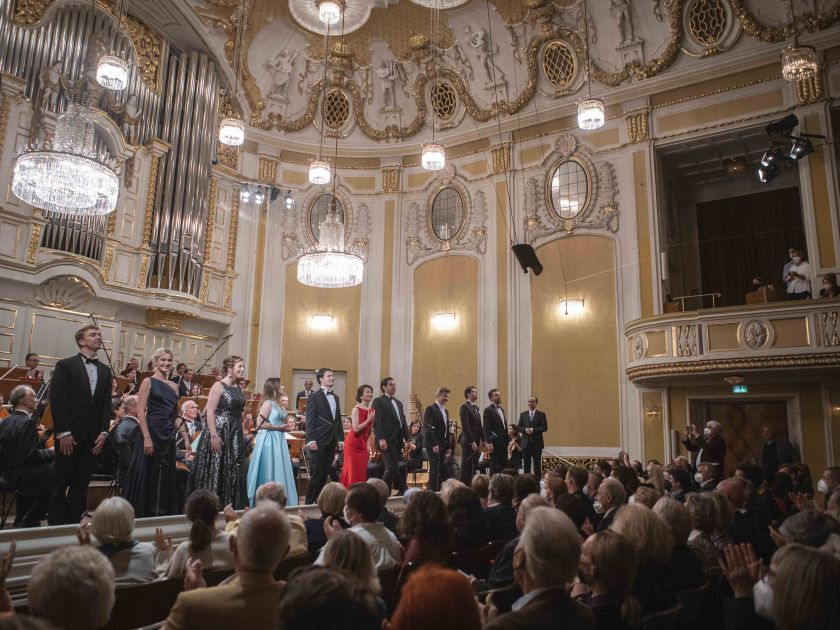 YSP Final Concert - Mozarteum Orchestra Salzburg · Kelly 2021: Mozarteum Orchestra Salzburg, Tobias Hechler (Countertenor), Miriam Kutrowatz (Soprano), Freya Apffelstaedt (Alto), Liubov Medvedeva (Soprano), Sebastian Mach (Tenor), Ikumi Nakagawa (Soprano), Ángel Macías (Tenor), Nikolai Zemlyanskikh (Bass-baritone), Gabriel Rollinson (Bass-baritone), Alexander Köpeczi (Bass), Adrian Kelly (Conductor)