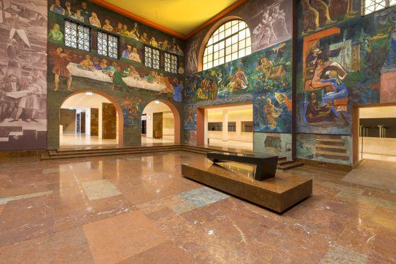 Faistauer-Foyer, Eingang Haus für Mozart und Felsenreitschule.