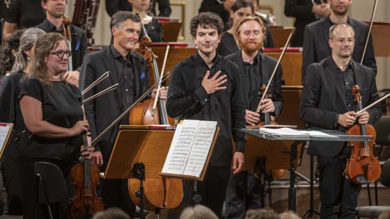 YCA Award Concert Weekend 1 2021: Camerata Salzburg, Jonas Ehrler (Dirigent)