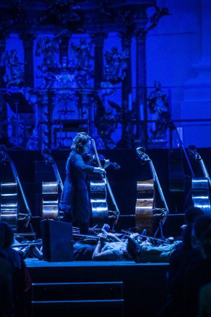 Dies irae · Kopatchinskaja 2021: Patricia Kopatchinskaja (Violine, Idee und Künstlerische Leitung)