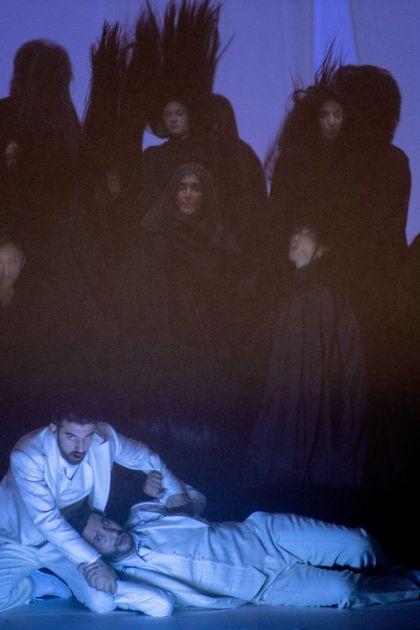 Don Giovanni 2021: Davide Luciano (Don Giovanni), Vito Priante (Leporello), Ensemble