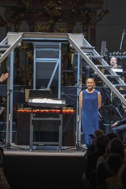 Inori – Le Balcon · Pascal 2021: Maxime Pascal (Dirigent), Emmanuelle Grach (Tanz-Mimin), Le Balcon