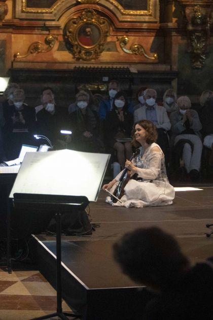 La lontananza – Kopatchinskaja · Richard 2021: André Richard (Sound direction), Patricia Kopatchinskaja (Violin)