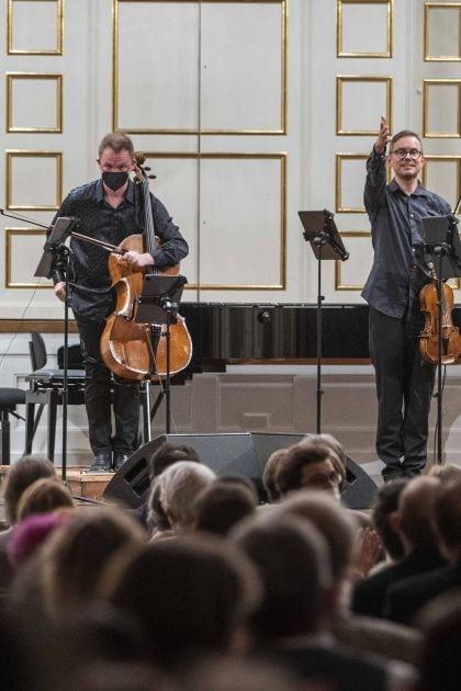 Quatuor pour la fin du temps — Kammerkonzert Meta4 · Ibragimova · Widmann · N. Altstaedt · Piemontesi 2021: Meta4
