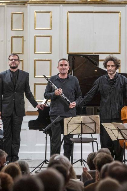 Quatuor pour la fin du temps — Kammerkonzert Meta4 · Ibragimova · Widmann · N. Altstaedt · Piemontesi 2021: Alina Ibragimova (Violin), Francesco Piemontesi (Piano), Jörg Widmann (Clarinet), Nicolas Altstaedt (Violoncello)