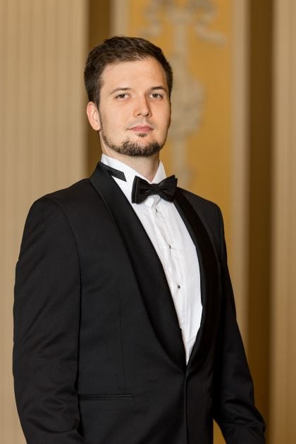 Sebastian Mach Teilnehmer des Young Singers Project