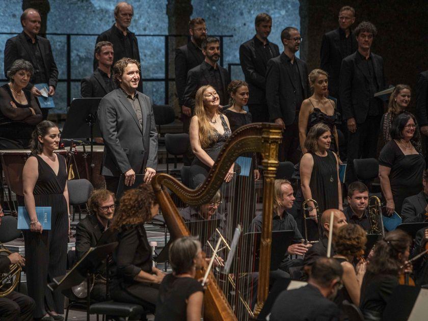 Symphonie de Psaumes · Collegium Vocale Gent · Orchestre des Champs-Élysées · Herreweghe 2021: Dorothee Mields (Sopran), Krešimir Stražanac (Bariton), Collegium Vocale Gent, Orchestre des Champs-Élysées