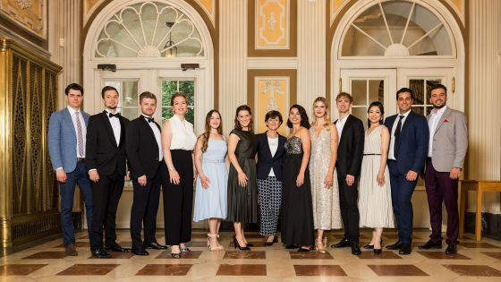 Teilnehmer des Young Singers Project