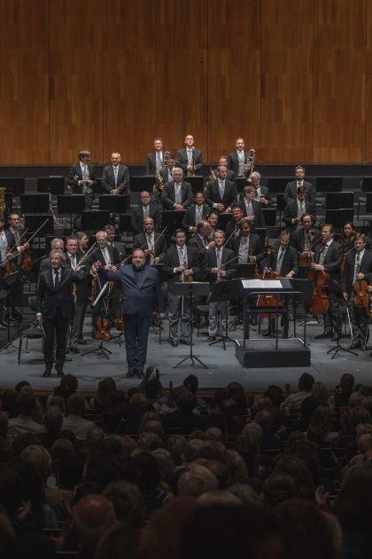 Wiener Philharmoniker · Welser-Möst 2021: Franz Welser-Möst (Dirigent), Matthias Goerne (Bariton), Wiener Philharmoniker