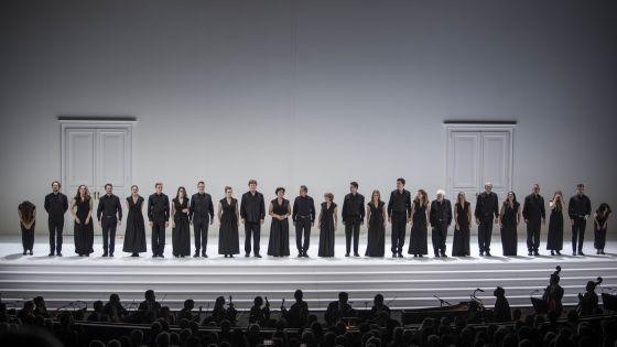 Così fan tutte 2021 · Schlussapplaus: Konzertvereinigung Wiener Staatsopernchor, Wiener Philharmoniker