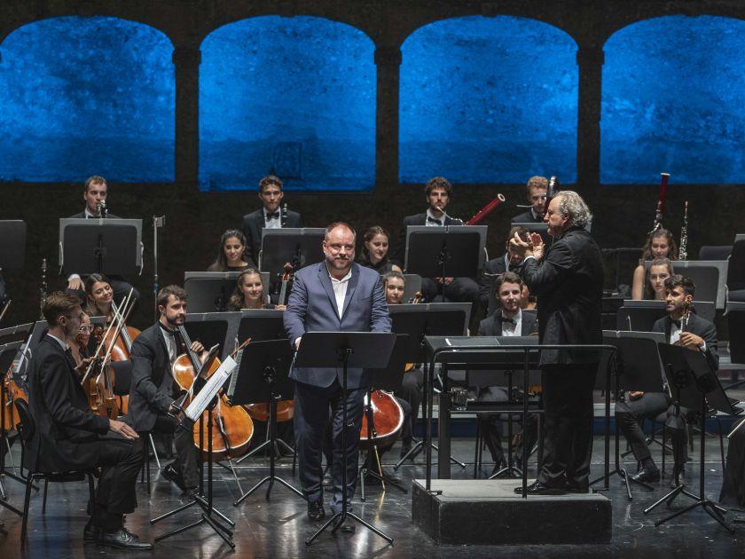 Gustav Mahler Jugendorchester · Honeck 2021: Matthias Goerne (Bariton), Manfred Honeck (Dirigent), Gustav Mahler Jugendorchester
