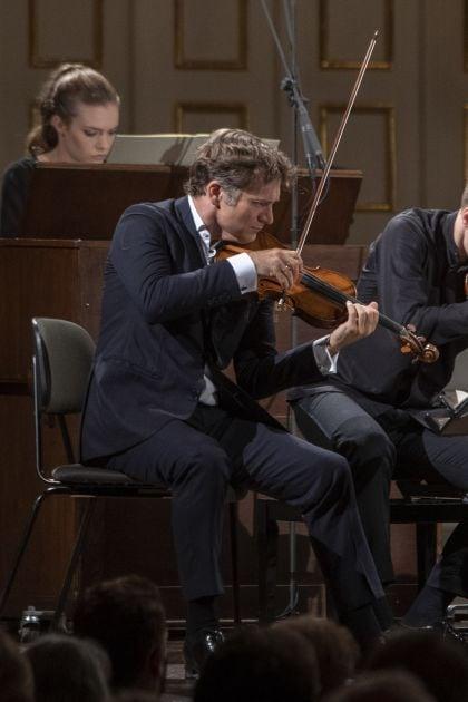 Chamber Concert R. Capuçon & Friends 2021: Adélaïde Ferrière (Harmonium), Renaud Capuçon (Violin)