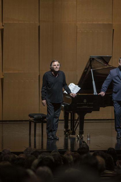 Liederabend Goerne · Hinterhäuser 2021: Markus Hinterhäuser (Klavier), Matthias Goerne (Bariton)