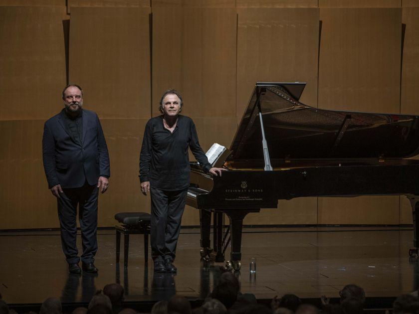 Liederabend Goerne · Hinterhäuser 2021: Matthias Goerne (Bariton), Markus Hinterhäuser (Klavier)