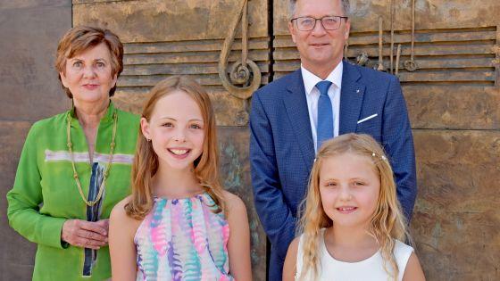 Festspielpräsidentin Helga Rabl-Stadler und Heinz Konrad